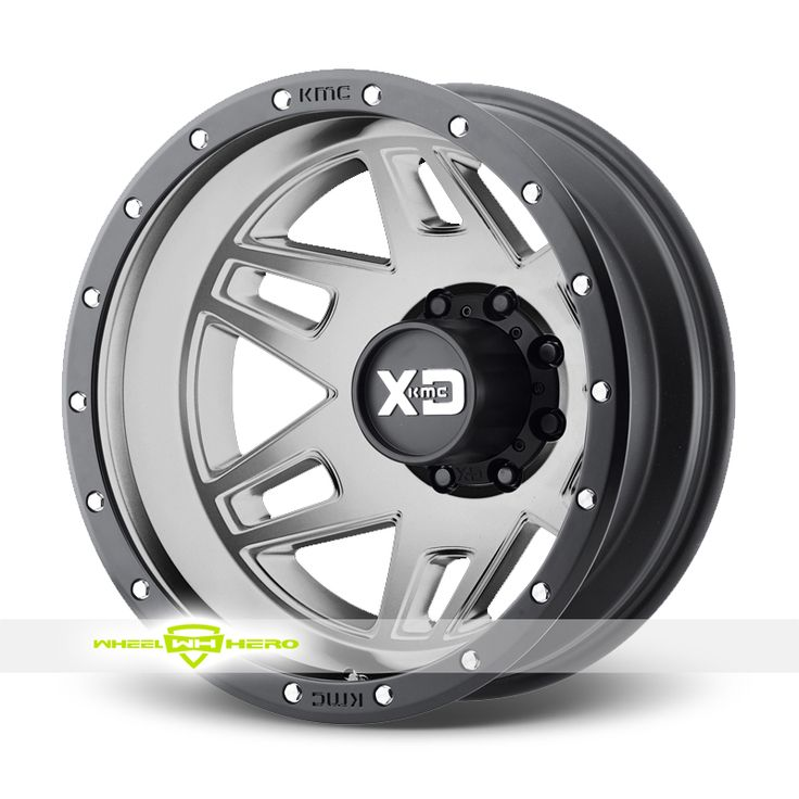 XD Series XD130 Machete Dually Gray Wheels For Sale & XD Series XD130 Machete Dually Rims And Tires