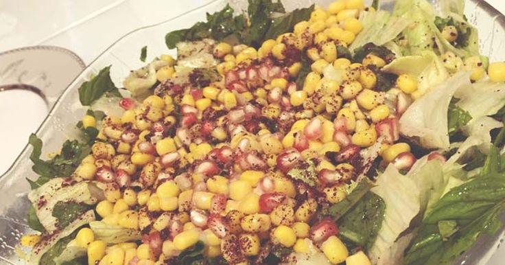 Ispanaklı ve Narlı Salata