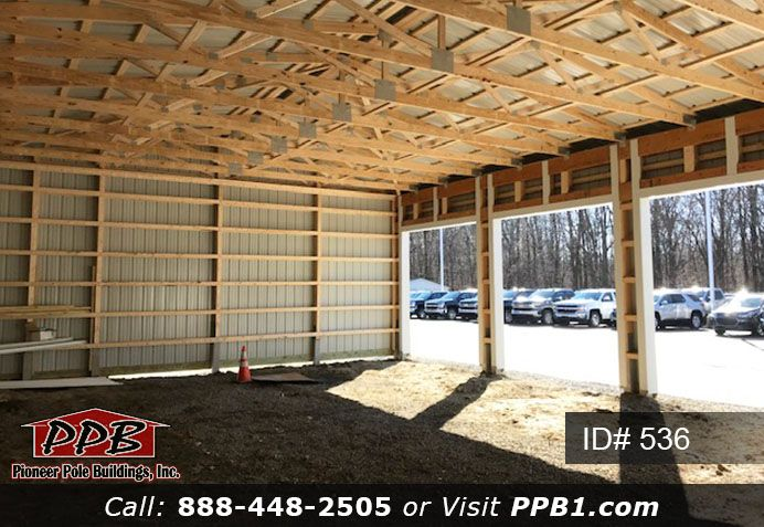 Inside View Garage White Siding Garage Door Insulation Garage Design