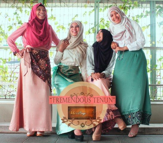 "let me introduce my new fashion line Heritage Skirt. This is the second edition ""Tremendous Tenun"" . visit on twitter @ID_Heritage :)"