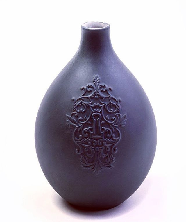 What is the key to your success this year? Key Egg Vase by Oden artisan  Russell Hackney