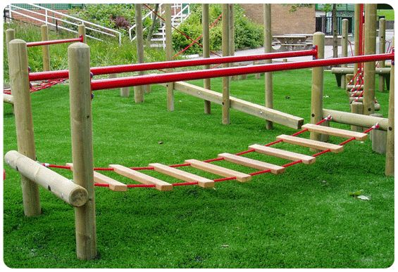 Best 10 kids swing sets ideas on pinterest swing sets for Swing set bridge