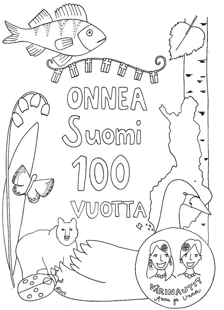 Onnea Suomi 100v