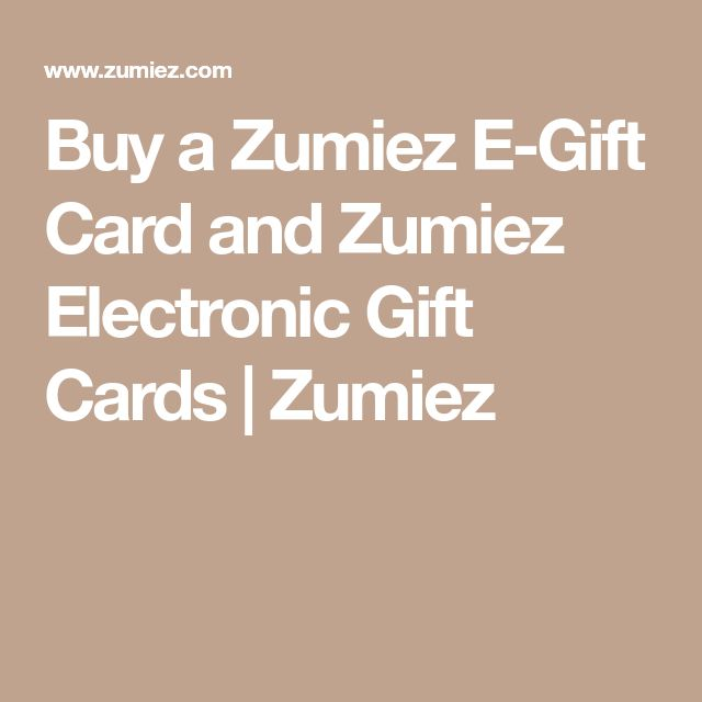 Buy a Zumiez E-Gift Card and Zumiez Electronic Gift Cards | Zumiez