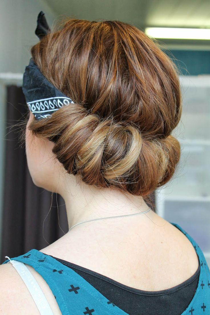 Beatissa blog: Bandana curls