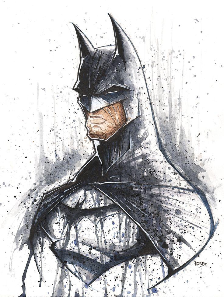 Batman Saucy Shot by =RobDuenas
