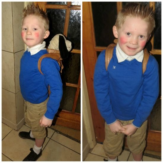 A brilliant and in expensive children's costume, this was for world book day. It's Tin Tin!