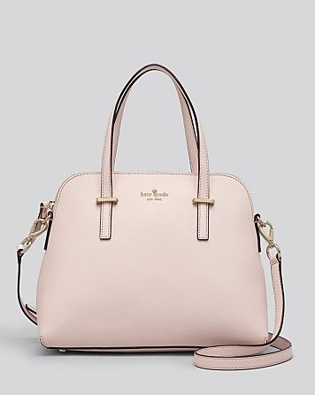 Kate Spade Cedar Street Maise Satchel In Ballet Slipper 300 Via Bloomingdales Also Cream Wardrobe Project 2018 Pinterest
