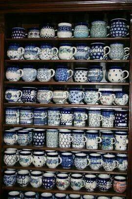 Polish pottery, Bunzlau perhaps??