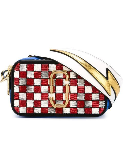 Marc Jacobs 'Snapshot Cheker' crossbody bag