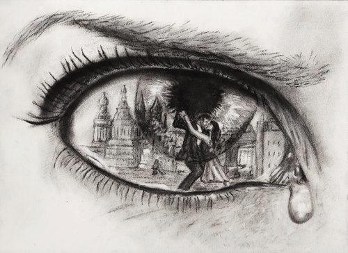 Dibujos De Ojos Llorando A Lapiz Fondos De Pantalla