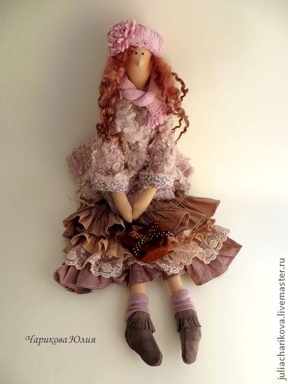Куклы Тильды ручной работы. Ярмарка Мастеров - ручная работа Бохо.Ноябрь.Отцвели уж давно хризантемы в саду.... Handmade.