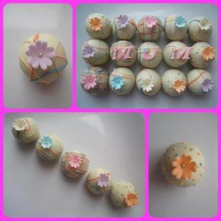 Mothers Day Cake Balls