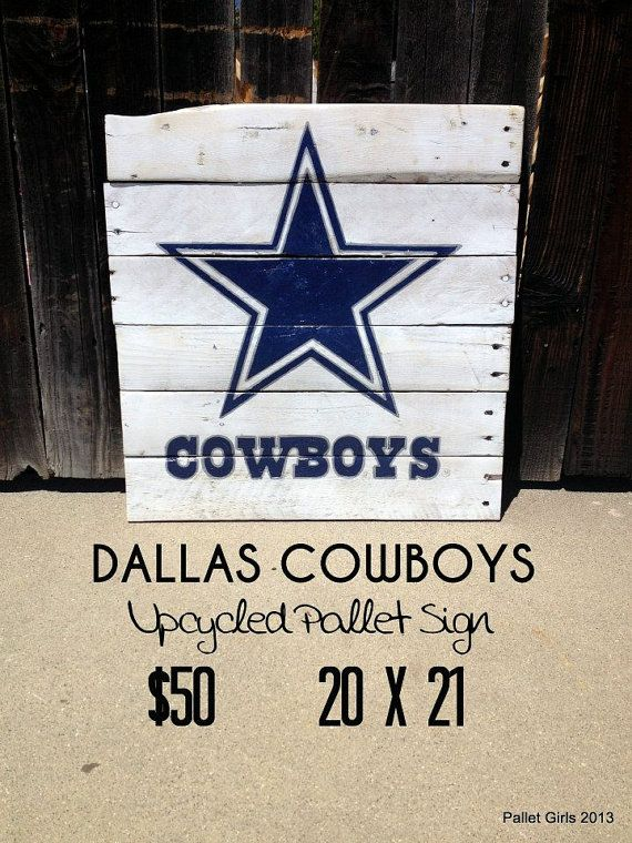 Cowboys Pallet Sign on Etsy, $50.00