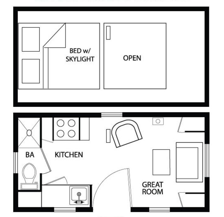 Cottage Main Floor Plan Plan 896 1
