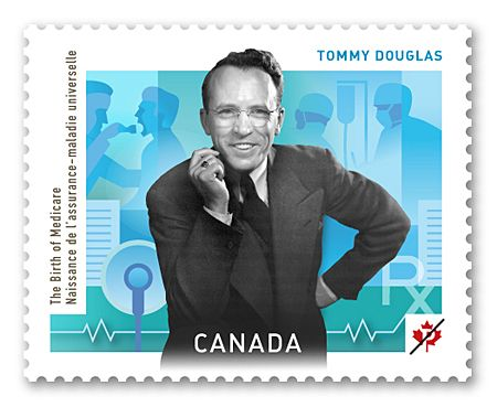 A Line from Linda: Tommy Douglas:  The Birth of Medicare