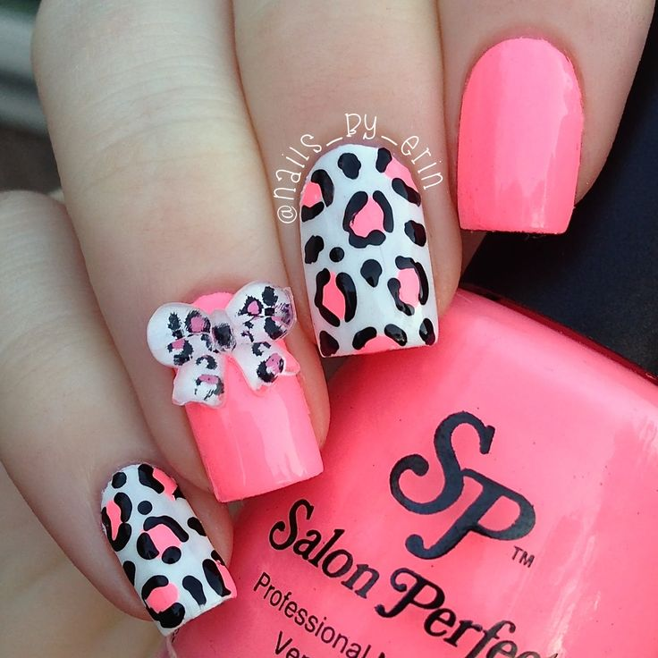 368 best Nail Art - Animal Print images on Pinterest | Leopard ...