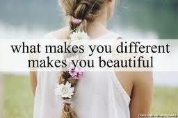 You are beautiful.... if you're feeling it on the inside... Tell your face :) smile and shine