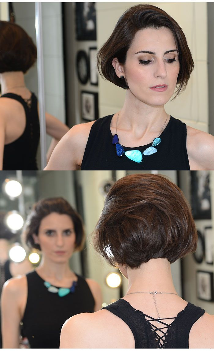 Cintia Ferreira - cabelo curtinho