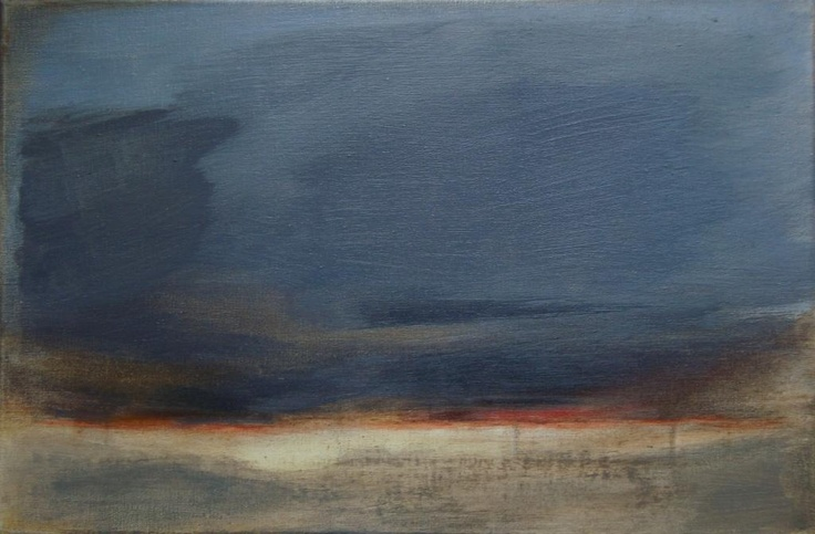 'Sunset' by Arsen Bereza  oil on canvas; 20 x 30 cm; realism; 2011.  'As for me, it's quiet important to retain aesthetics and humanism in context of modern art, so I try to keep this line.'  Arsen Bereza  Check out more on http://www.studentartworks.com/autorzy/bereza-arsen/  www.studentartworks.com