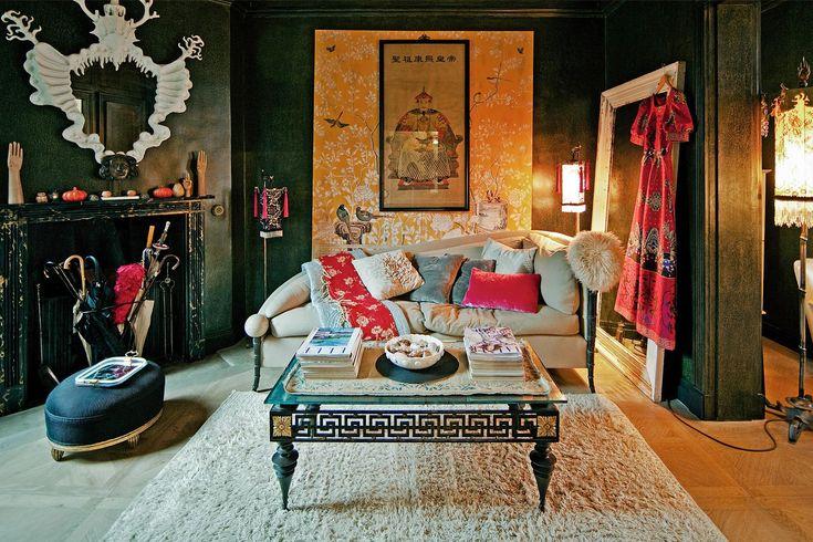 Tapeten Asiatischer Stil : 70 moderne, innovative Luxus Interieur Ideen f?rs Wohnzimmer – luxus
