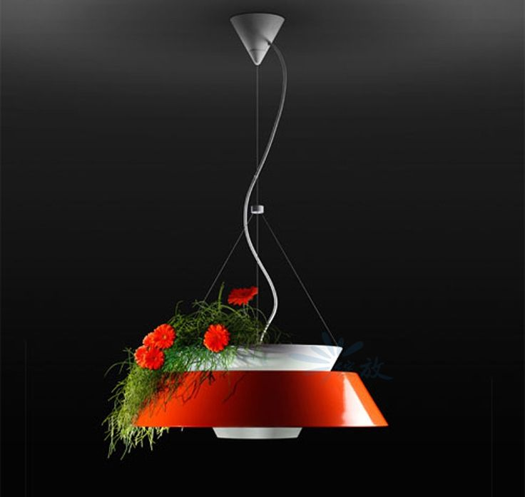 150.00$  Buy now - http://alia55.worldwells.pw/go.php?t=32616540515 - Free shipping American restaurant green potted pandent lights European style fashion creative living room study lighting 150.00$