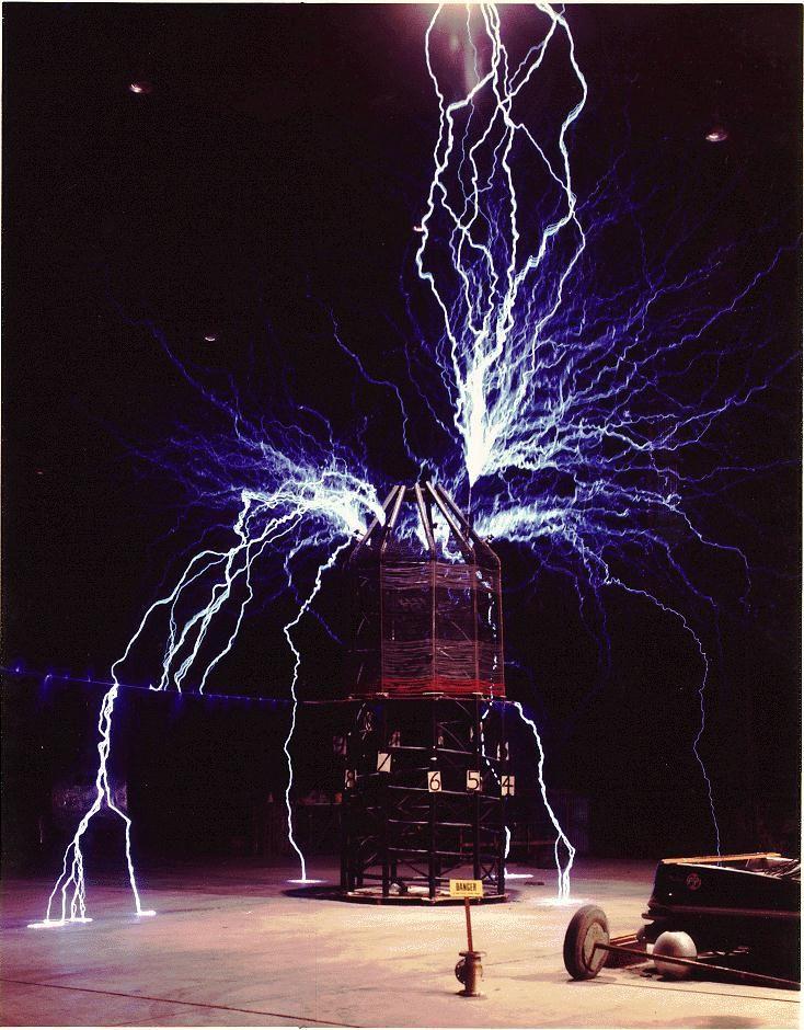 Tesla coil!!! Deadly Device Nancy Drew