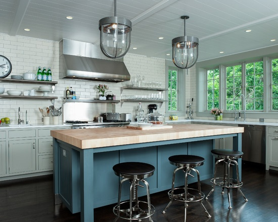 Gorgeous and casual...happy kitchen:)