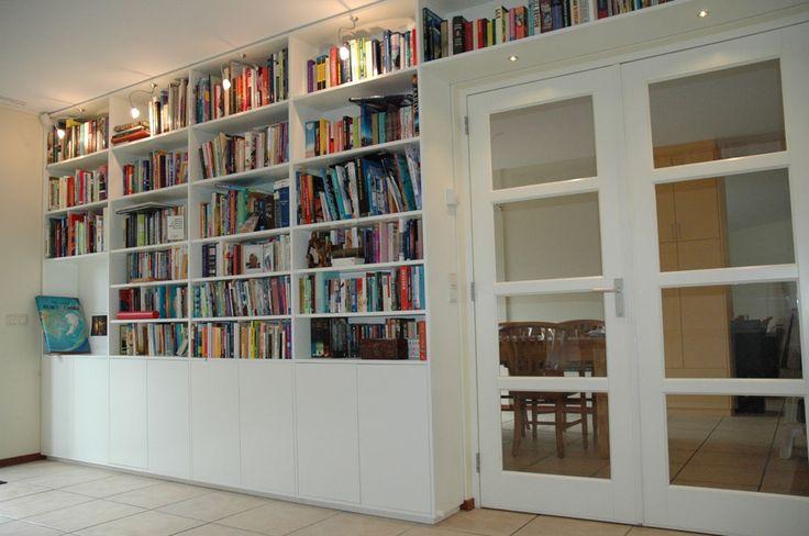 17 beste afbeeldingen over Boekenwand op Pinterest - Planken, TVs en ...