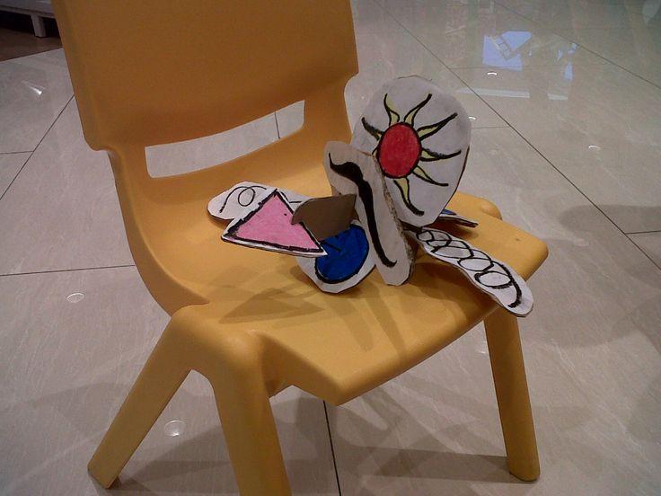 Maeluna Quinteva - Joan Miro - 3D Joan Miro @ Gramedia Kids Emerald Bintaro