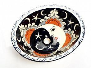 Ora - Umywalka ceramiczna Średnia