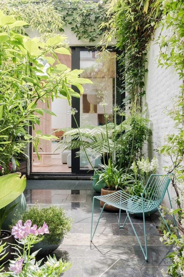 20 Tiny Courtyard Garden With Cozy Seating Home Design And