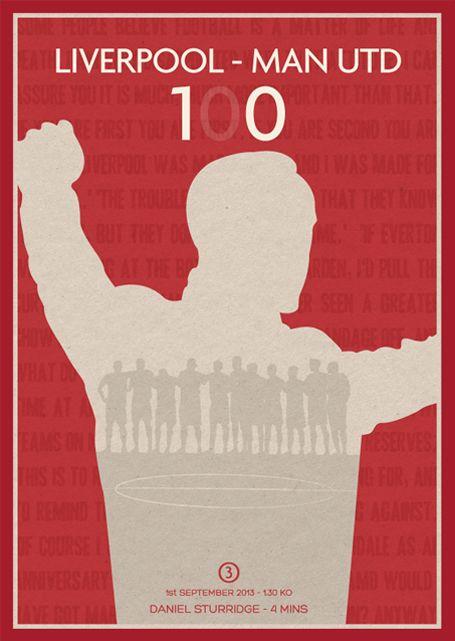 LFC Postcard Series 2013/14 by Dave Williams, via Behance