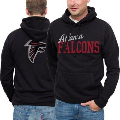 Atlanta Falcons Game Day Pullover Hoodie Black #fanatics