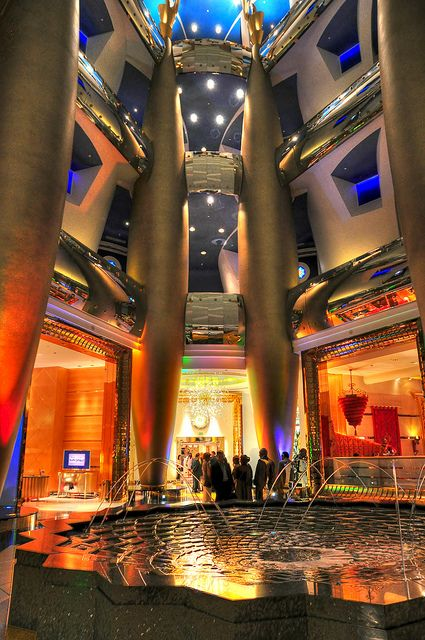 Burj Al-Arab Hotel, Dubai.  Go to www.YourTravelVideos.com or just click on photo for home videos and much more on sites like this.