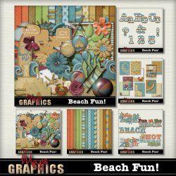 BEACH FUN Scrap Kit