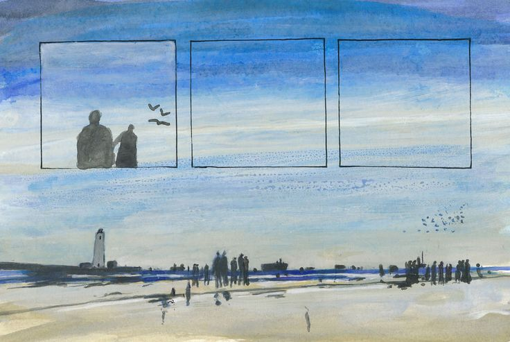 gestrandet: #islavolante #art #contemporaryart #malerei #watercolor #DREAMS