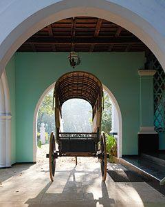entrance porch at serenity