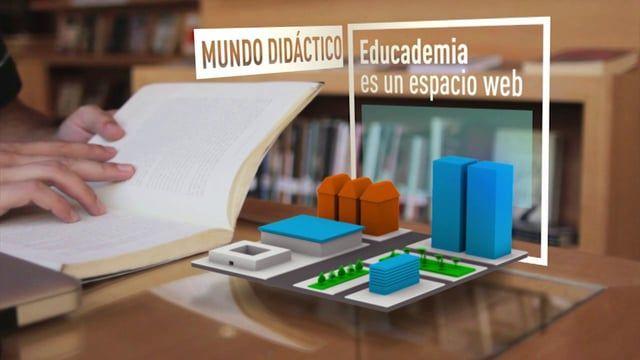 Video introductorio para el preuniversitario interactivo, Educademia.