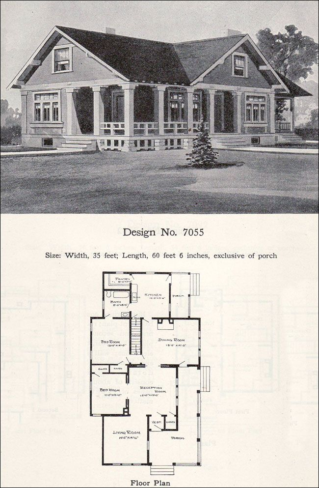 Small bungalow cottage plan 1908