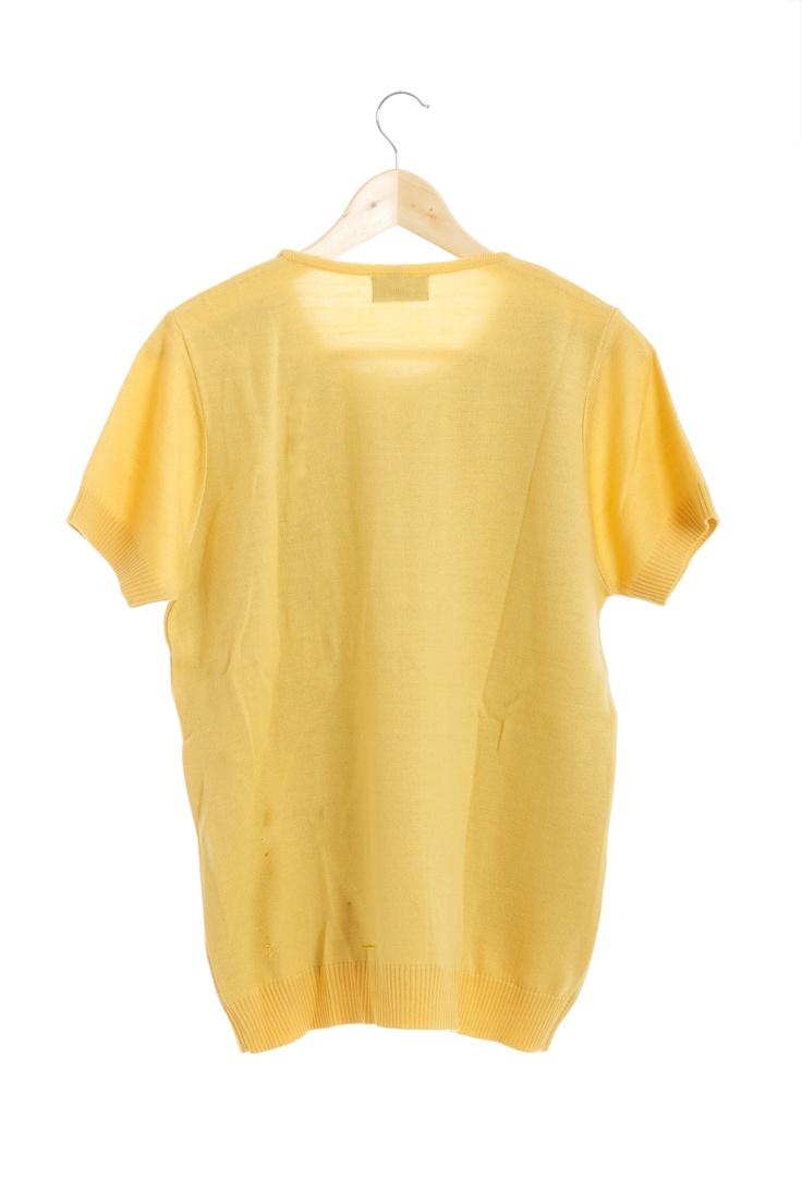 C a b a l l o origami (amarillo) espalda