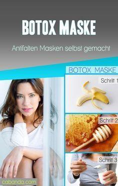 Botox zum selbermachen. Diese straffende Antifalten Maske kannst Du jederzeit innerhalb weniger Minuten selbst herstellen. Die perfekte Anti Aging Maske, wirkt wie ein Facelifting bereits bei der ersten Anwendung.