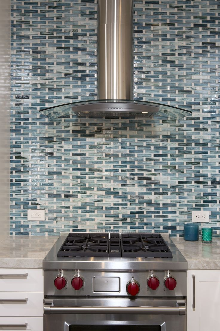 Vivid Blue Kitchen Backsplash Project | Architectural Ceramics