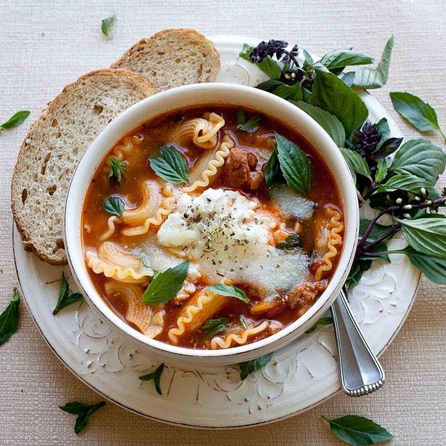 lasagna soup... #lasagna #soup