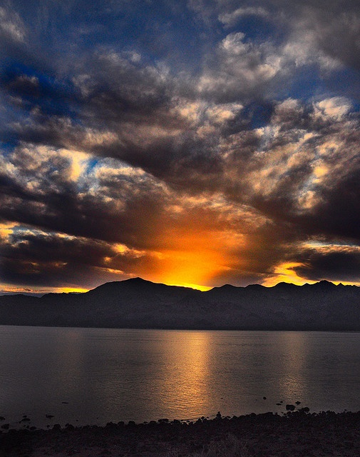 Another Desert Sunrise by Bill Gracey, via Flickr