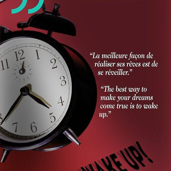 Wake Up! (quotation)