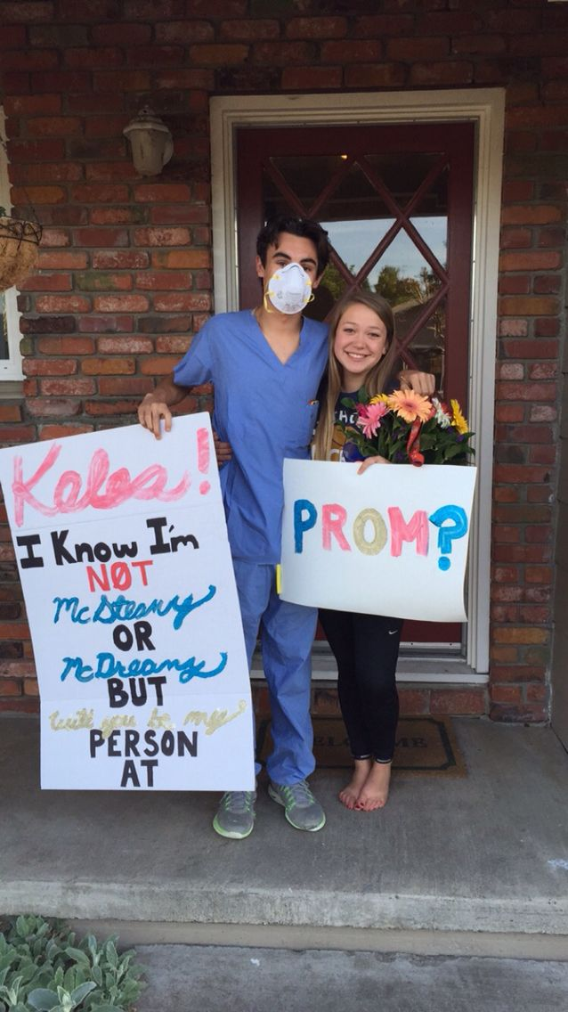 Grey's Anatomy Promposal