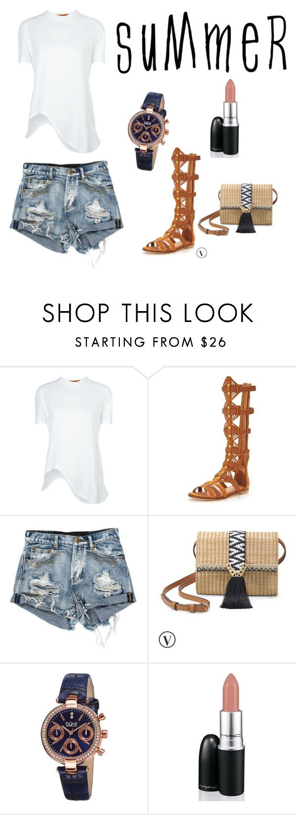 """SuMmEr TiMe"" by taylatay ❤ liked on Polyvore featuring Coperni Femme, KG Kurt Geiger, Stella & Dot, bürgi and David Jones"