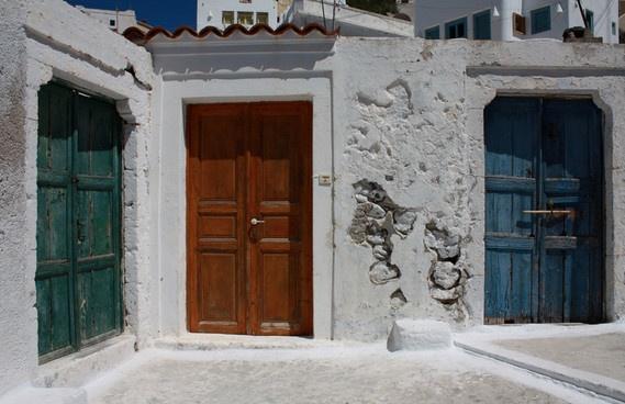 the three doors