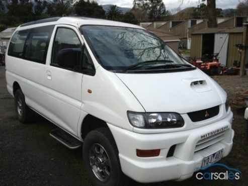 1997 MITSUBISHI DELICA PF8W EXCEED LWB $8900 couple of dents
